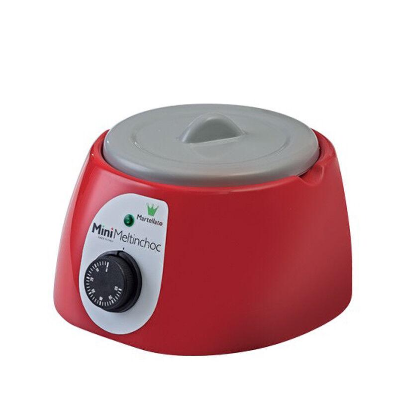 Martellato MC09RUSA Mini Meltinchoc Chocolate Tempering Machine, Red