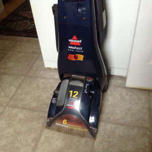 Bissell heated shampoo carpet steamer