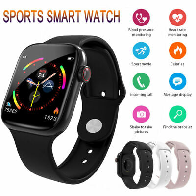 W4 Smart Watch Heart Rate Blood Pressure Fitness Tracker For iPhone & Android UK