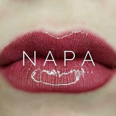 Lipsense Trio     Napa Lip Color  Pearl Gloss   Ooops  Free Lip Scrub Sample