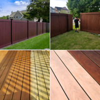 Decks|Fences, install & reapir, interior/Exterior Paint&Stain, l