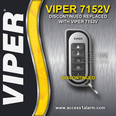 Viper 7152V 1-Way Replacement Remote Control Transmitter For The Viper 5701
