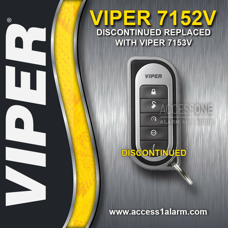 Viper 7152V 1-Way 5-Button Replacement Remote Control Transmitter For 5202V