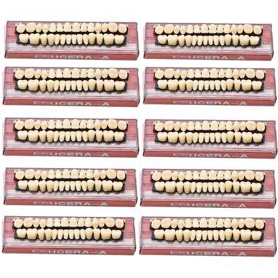 420pc 15set Denture Acrylic Resin Full Set Teeth Upper Lower Shade 23 A3 Dental