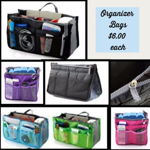 Organizer Bags - various colours