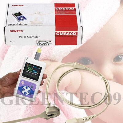Ce Fda Neonatal Infant Pediatric Kids New Born Pulse Oximeter Spo2 Monitor Usb
