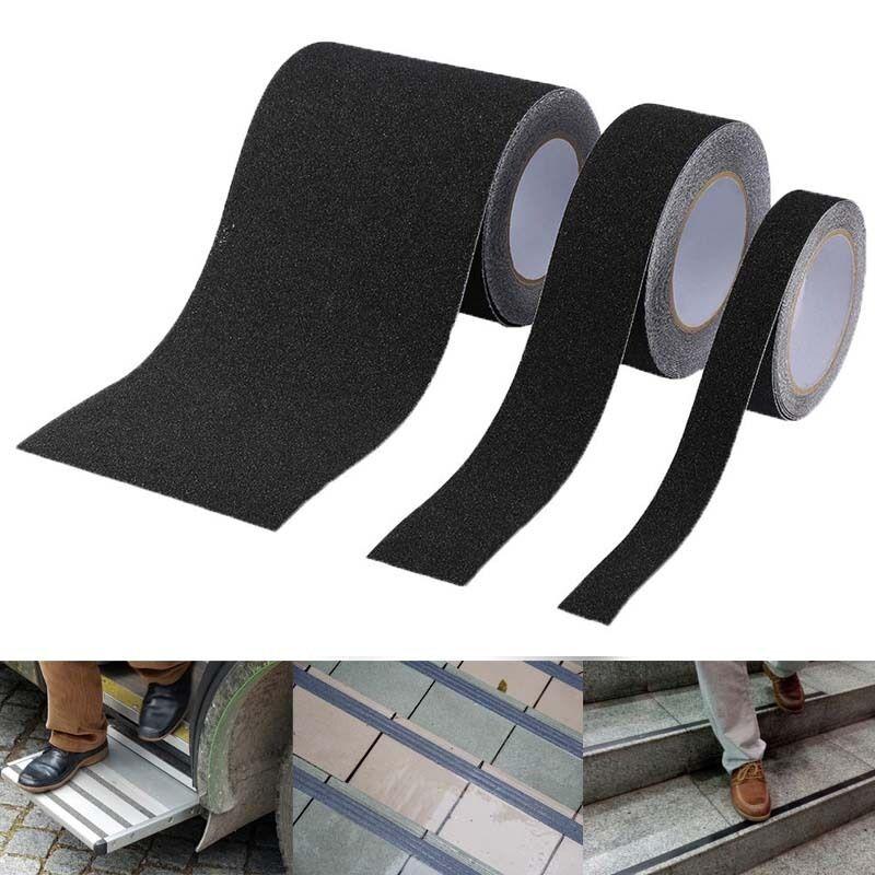 schwarz antirutschband klebeband selbstklebend treppen antirutschstreifen pvc zi. Black Bedroom Furniture Sets. Home Design Ideas