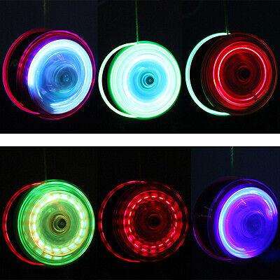 Light Up YoYo Ball for Magic Juggling Toy Fancy Moves Flashing LED Kids Gift XS - Yoyo Ball