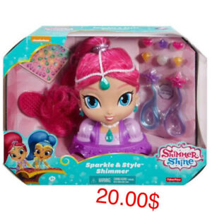 Shimmer and shine tête à coiffer
