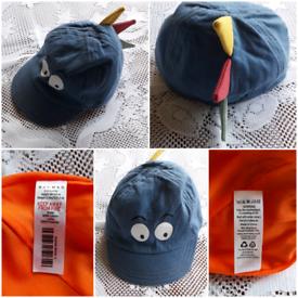 NUTMEG 0-3MTHS BABY'S DINOSAUR CAP
