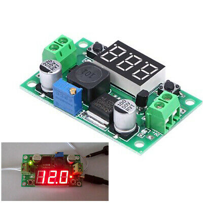 Lm2596 Dc-dc Buck Step Down Converter Module W Voltage Regulator Led Voltmeter