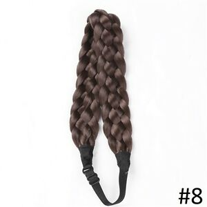 Adjustable natural Braided Hair Headband,Hair extensions Yellowknife Northwest Territories image 6