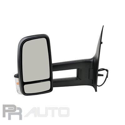 Mercedes SPRINTER (906) 05/09- Außenspiegel Spiegel links schwarz langer Arm