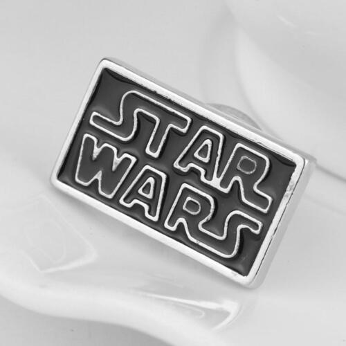 STAR WARS LOGO Original Metal Pin brooch prop badge darth vader cosplay Force