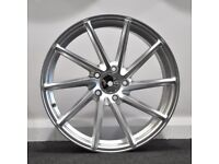 "18"" Directional Alloy Wheels. Seat, Audi A3,A4, VW Passat, Jetta, Golf MK5, MK6, MK7,Caddy"