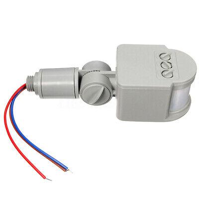 1pc LED Exterior AC 85-265V Infrarrojo Pir Movimiento Sensor Detector Pared Luz
