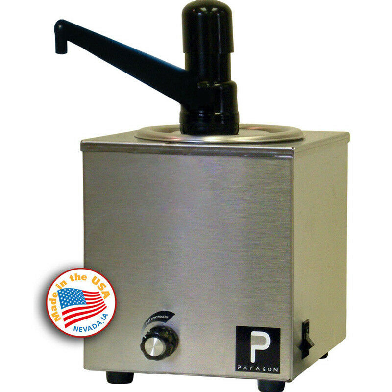 Popcorn Machine supplies - Paragon Pro-Style Butter Warmer with Pump