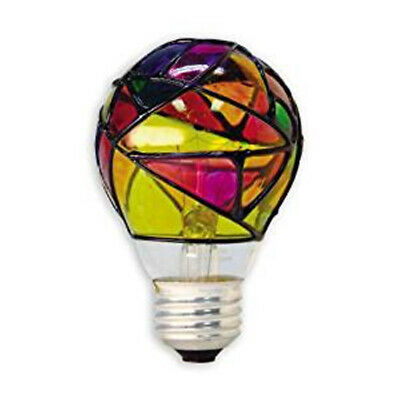 Hand Painted Light Bulbs - GE Stained Glass Light