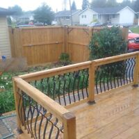 The Fence Company Thunder Bays highest qualified landscapers