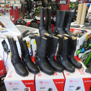 Ladies Cruiser Motorcycle Boots NEW - ONLY $100 Re-Gear Oshawa