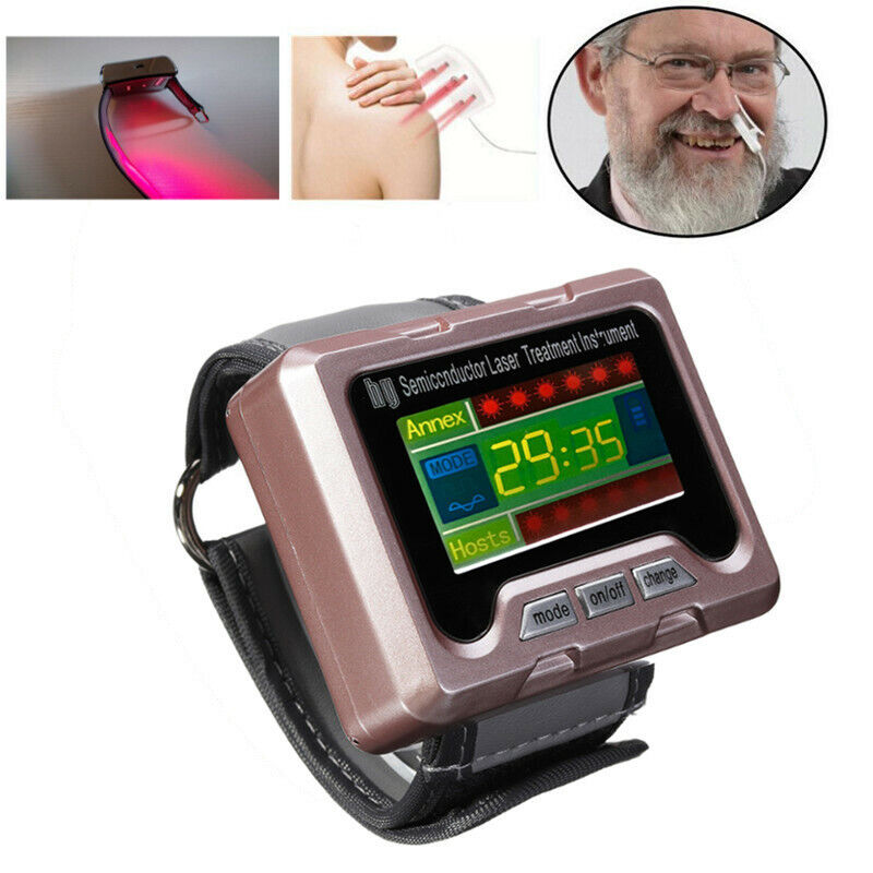 650nm Wrist Laser Apparatus High Fat Blood Watch For High Blood Pressure