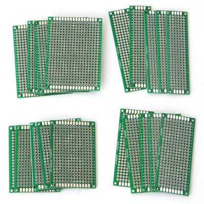 20pcs 4size Double-side Protoboard Circuit Universal Diy Prototype Pcb Board