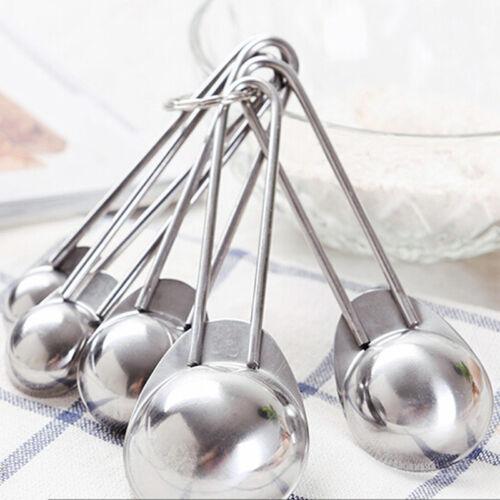 Metal Measuring Spoons Spice Jars Spoon Cup Baking Cooking T