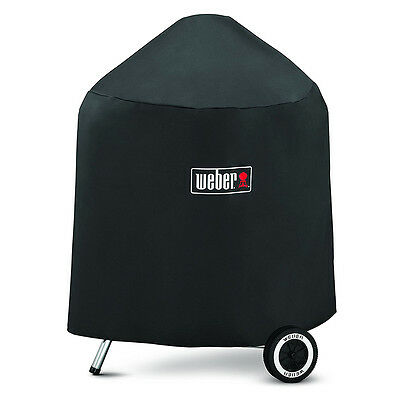 Weber 7149 Grill Cover With Black Storage Bag For Weber Char