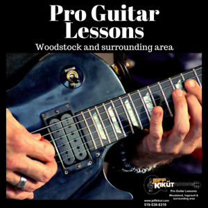 Pro Guitar Lessons- for beginners to advanced  players.