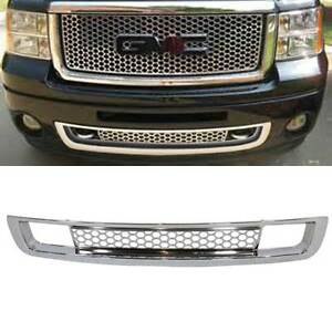 gmc sierra denali lower grill ebay. Black Bedroom Furniture Sets. Home Design Ideas
