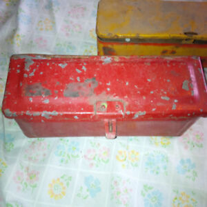 Antique Military or Tractor Tool Boxes Call Text 705-440-9159