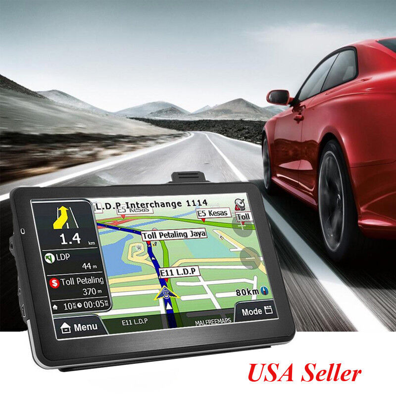 "4GB 7"" Capacitive Screen Truck Car GPS Navigation Navigator Free America USA Map"