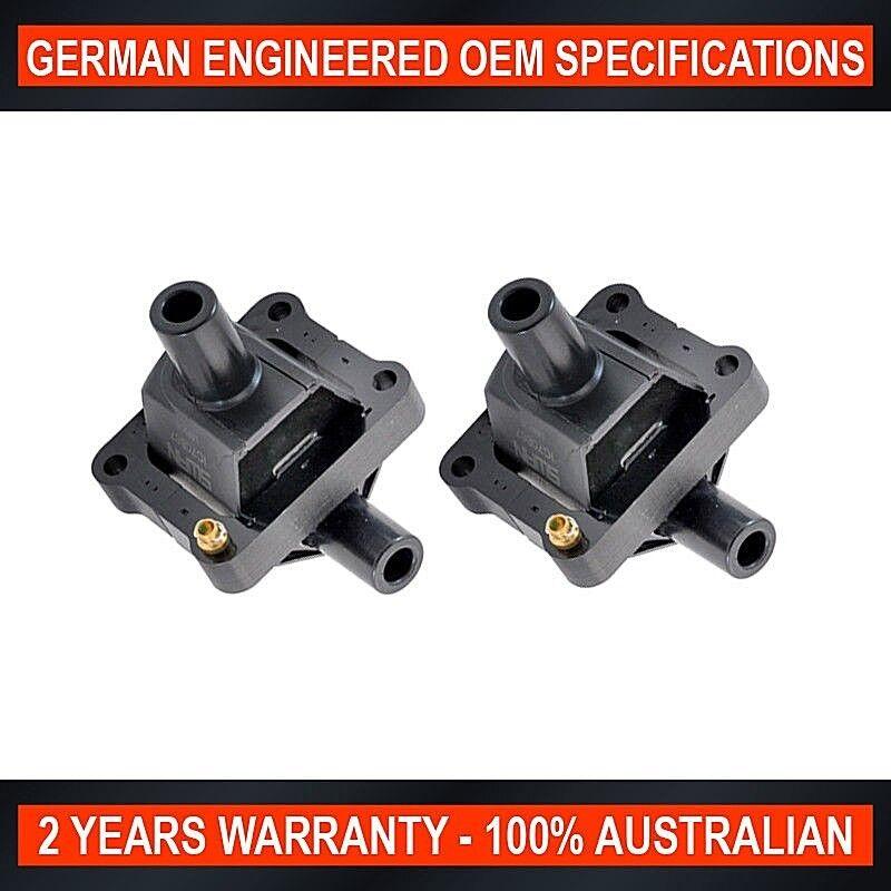 2 x Ignition Coil Mercedes Benz C180 C200 C230 W202 CLK200 W208 E230 SLK200 W170