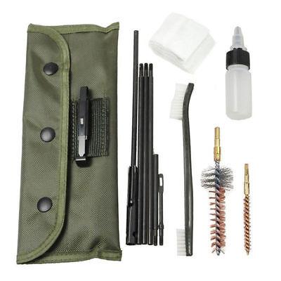 Brass Rods Gun Cleaning Kit for .22 22LR .223 556 Pistol Rifle Shotgun Cleaner