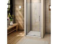 Pivot Shower door - frameless style Brand New 76cm