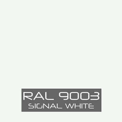 Ral 9003 Signal White Powder Coat Paint - New 1lb