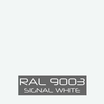 Ral 9003 Signal White Powder Coat Paint - New 1lb