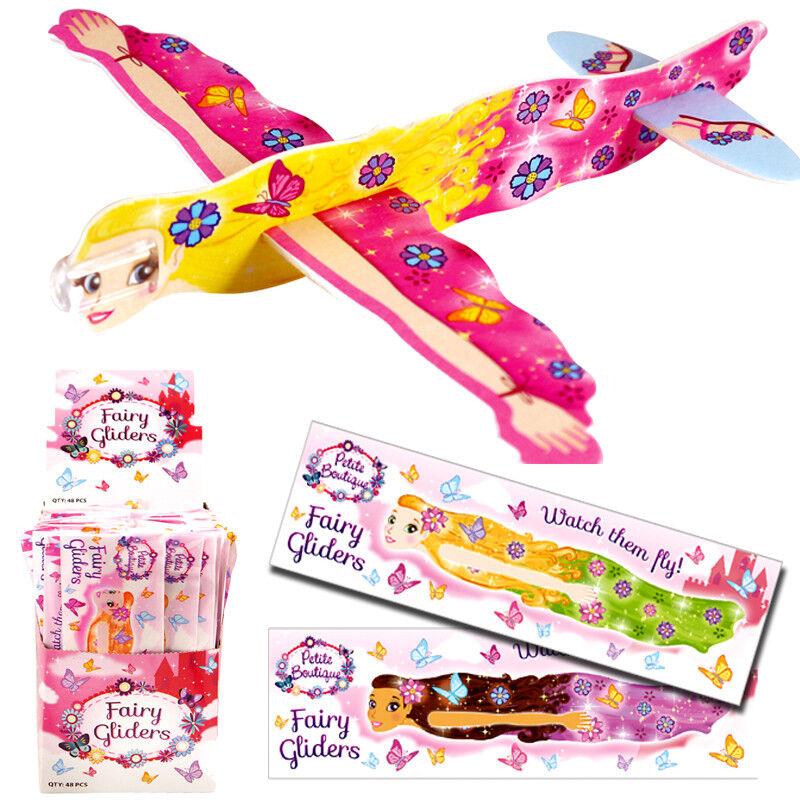 2 x UNICORN FLYING GLIDERS GIRL TOY GIFT WEDDING FAVOR BIRTHDAY PARTY BAG FILLER