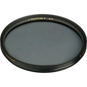 B+W CIRCULAR POLARIZER 72mm and a HOYA UV 72mm