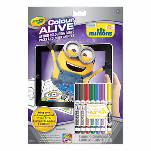 NEW: Crayola Color Alive Minions - $10 EACH (No tax)