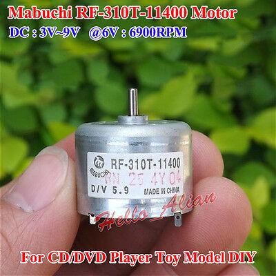Dc 3v-9v 6v 6900rpm Mini Mabuchi Rf-310t-11400 Motor Small Round Mute Toy Motor