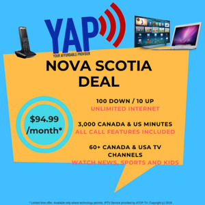 ⚡ ☎️TV, HOME PHONE & UNLIMITED INTERNET⚡ ☎️