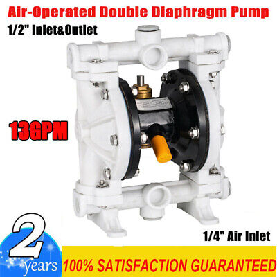 New In Box Tf Air-operated Double Diaphragm Pump Chemical Industrial 12 Npt