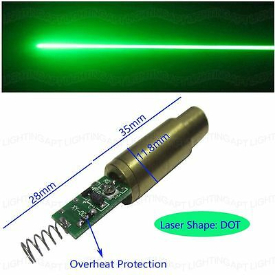 Discounts 100mw Diy 532nm Green Laser Diode Module Beam With Overheat Protection