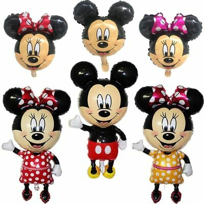 Mickey Minnie Mouse Foil Balloon Happy Birthday Party Decoration 1PC ](Minnie Mouse Birthday Decorations)