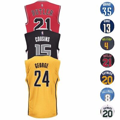 NBA Adidas Official Team Player Replica Jersey Collection - Men's