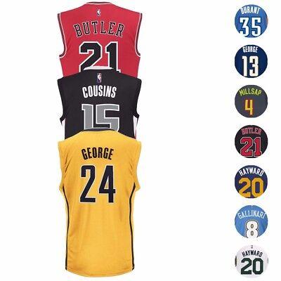 - NBA Adidas Official Team Player Replica Jersey Collection - Men's