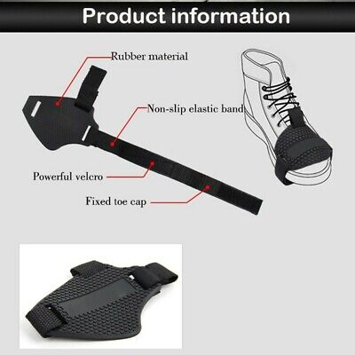 Motorcycle Shoes Protective Gear Shifter Boots Cover Motorbike Protector Black