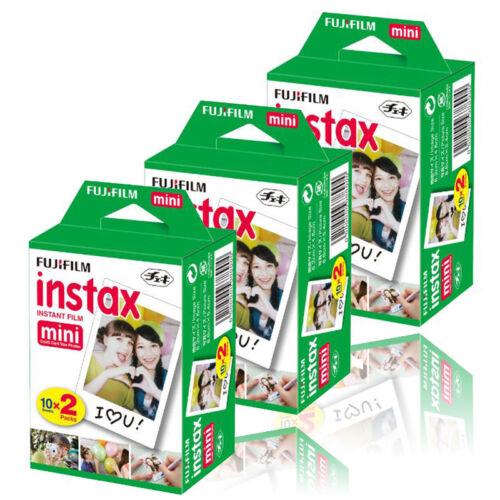 Fujifilm Instax Mini (3 Twin Pk) 60 shots Instant Film for 50s 7s 8 9 90 Camera