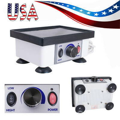 Us Dental Laboratory Equipment Square Quartet Vibrator Vibrating Oscillator 120w